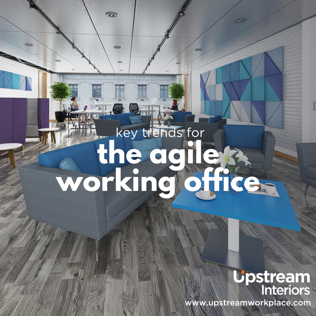 Key trends for the agile working office